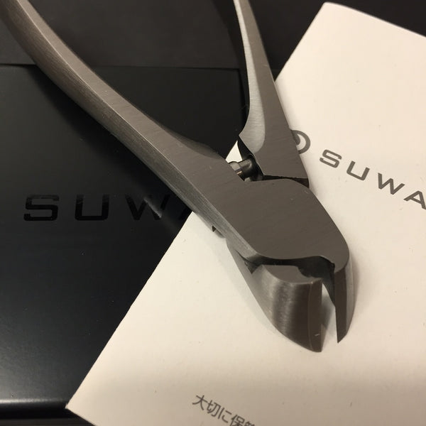 SUWADA NAIL CLIPPERS w/CASE/  For Toenail -Free shipping