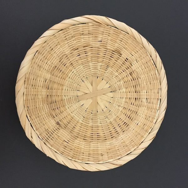 BAMBOO WOVEN DECORATIVE PLATE