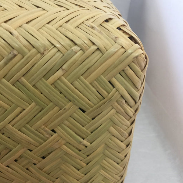 BAMBOO BASKET with LINER / ICHIBA KAGO