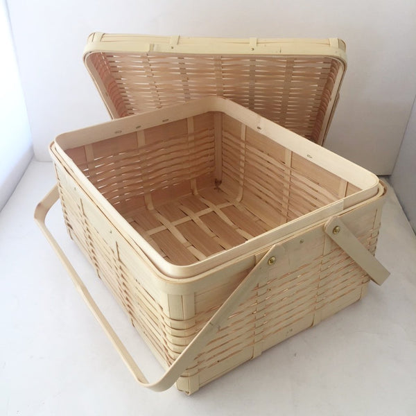 DX Bamboo Lunch basket