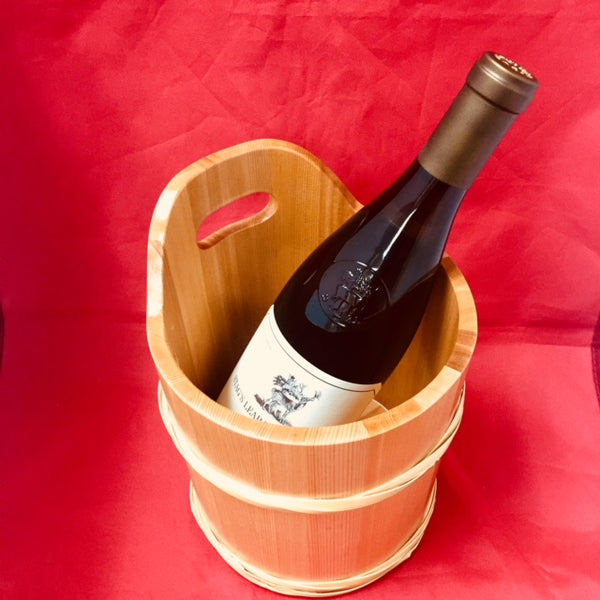 WOODEN  WINE COOLER(WINE is not included)