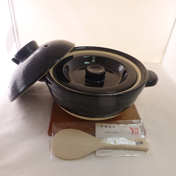 KAMADO-SAN / EARTHENWARE RICE COOKER