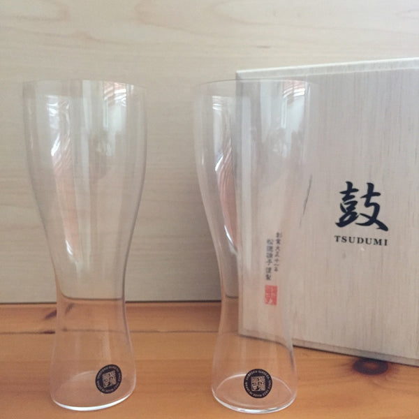 USUHARI BEER GLASS PILSNER SET - 鼓