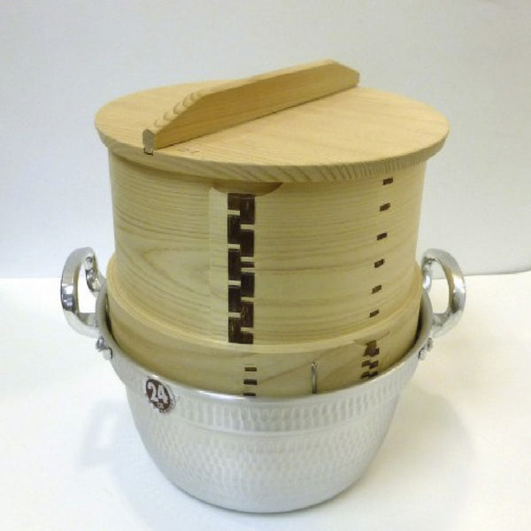 SEIRO/WOODEN STEAMER-JAPANESE STYLE SET