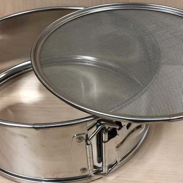 STAINLESS STEEL SIEVE - Body and Mesh