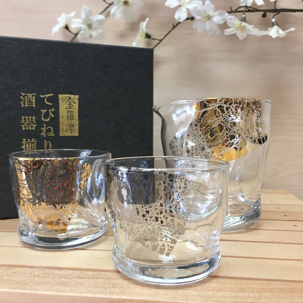 TEBINERI SAKE GLASS SET