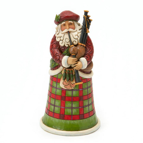 Jim Shore Scottish Santa