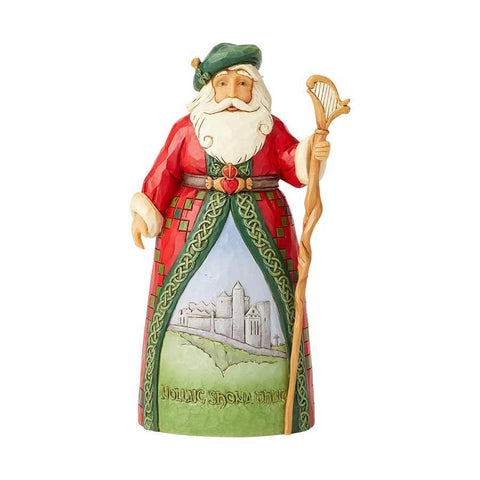 Irish Santa Hanging Ornament