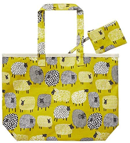 Ulster Weavers Oil Cloth Bag - Dotty Sheep