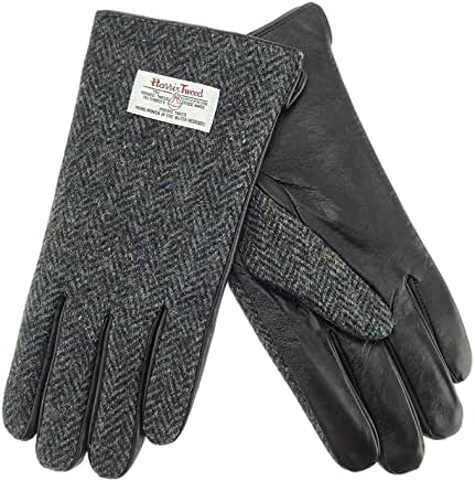 Glen Appin Gents Gloves - Harris Tweed