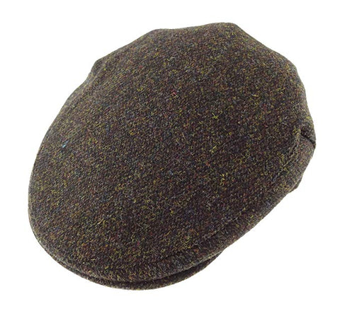 Glen Appin Country Cap - Brown Harris Tweed