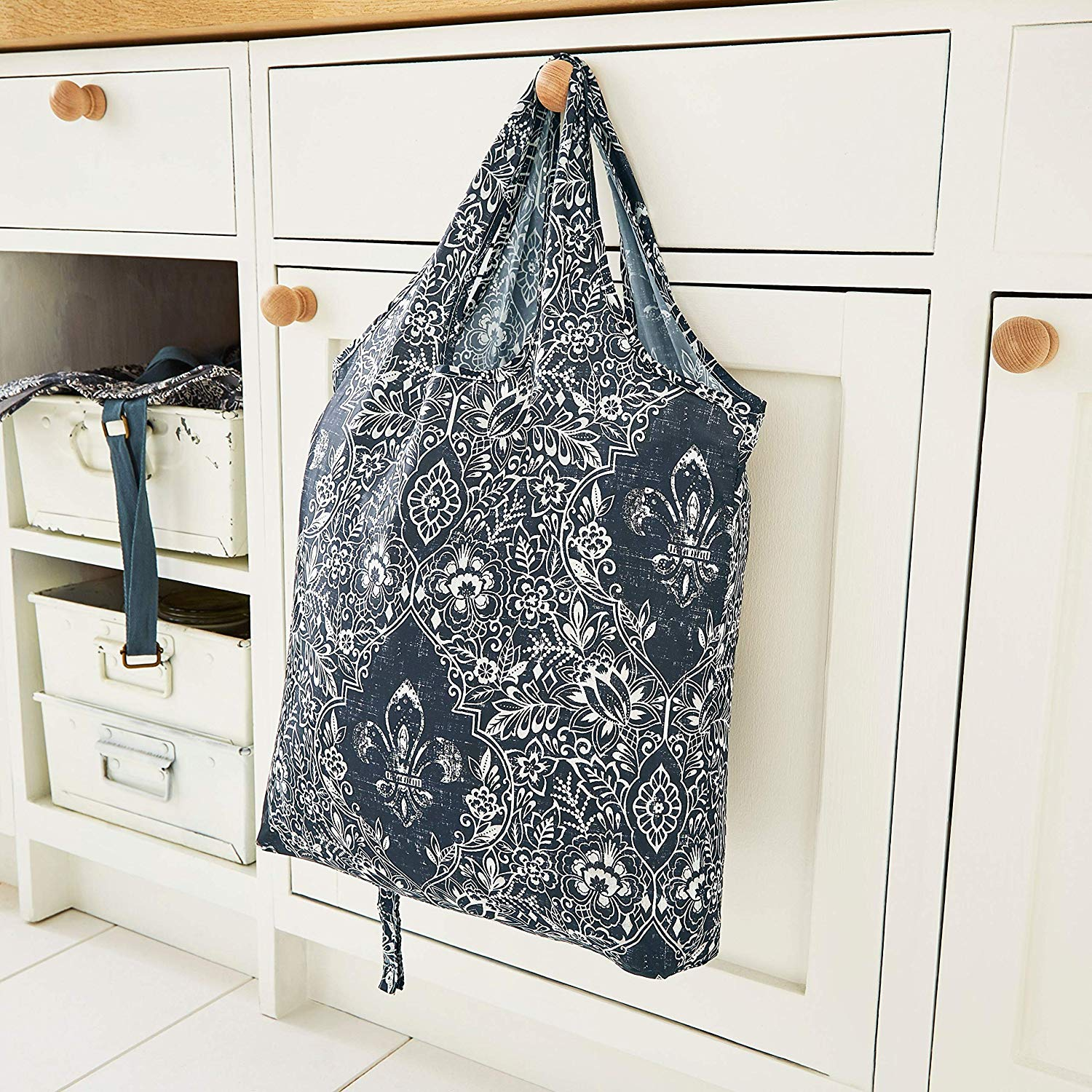 Ulster Weavers Packable Bag - Fleur De Lis