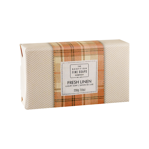 Wrapped Soap Fresh Linen