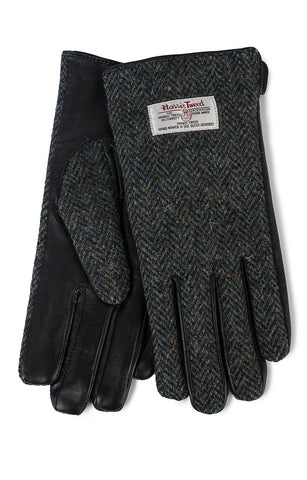 Glen Appin Ladies Gloves - Herringbone Harris Tweed