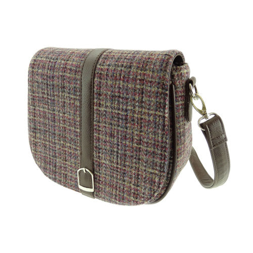 Glen Appin Harris Tweed Shoulder Bag