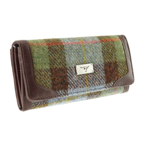 Glen Appin Harris Tweed Wallet (Long Purse)