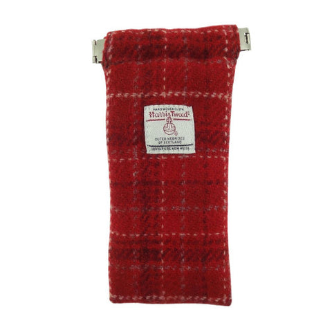 Glen Appin Harris Tweed Eyeglass Case