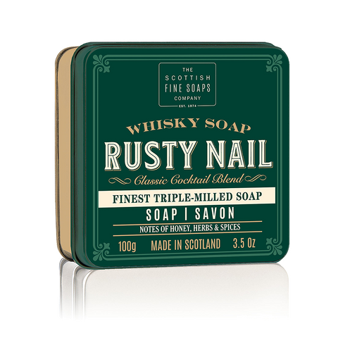 Rusty Nail Soap in a Tin