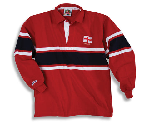 Barbarian Rugby Shirt ENGLAND (Collar)