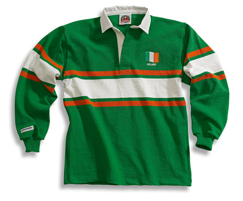 Barbarian Rugby Shirt IRELAND (Collar)