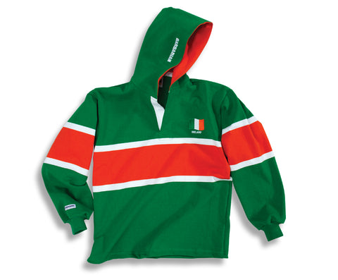 Barbarian Rugby Shirt IRELAND (Hooded)