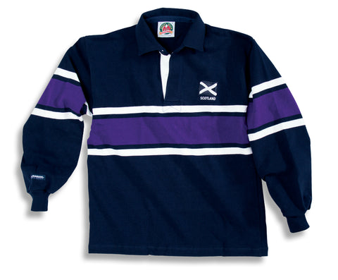 Barbarian Rugby Shirt SCOTLAND (Collar)