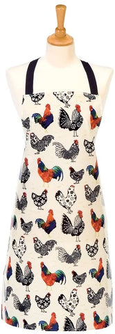Ulster Weavers Apron - Roosters