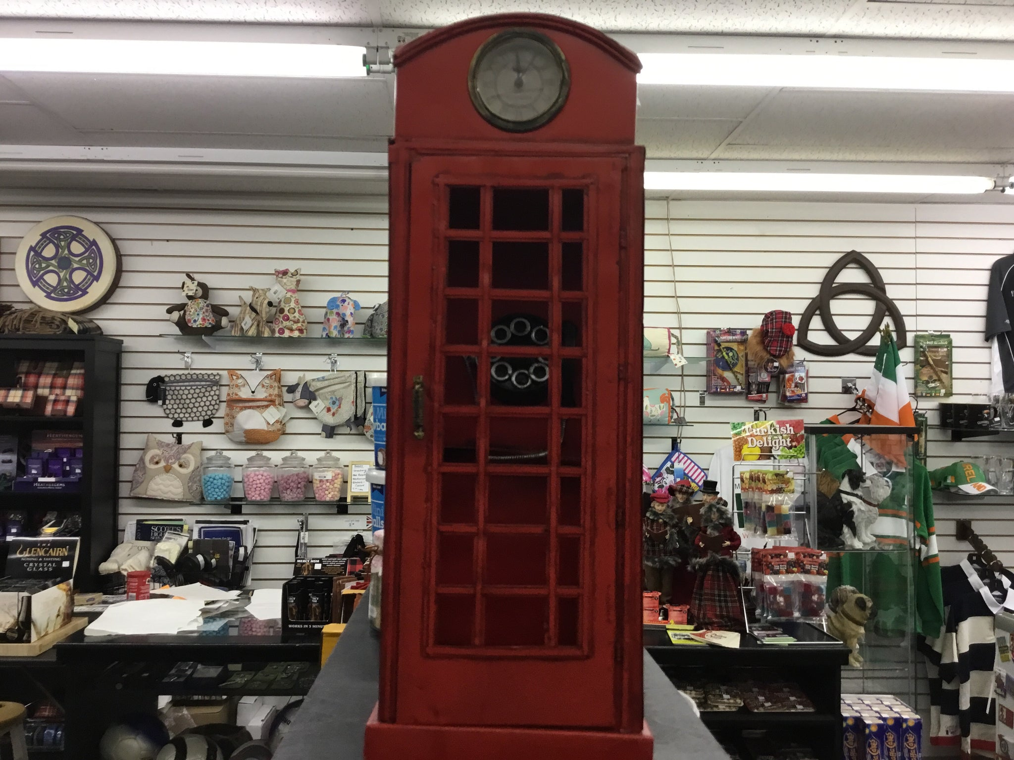 Red London Telephone Booth Box Large 1920