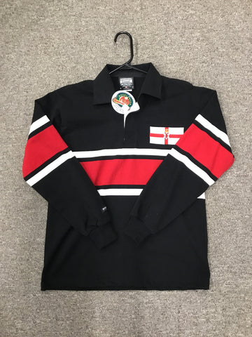 Barbarian Rugby Shirt NORTHERN IRELAND (Collar)