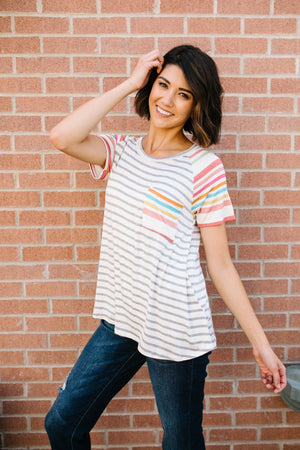 Earn Your Stripes Tee