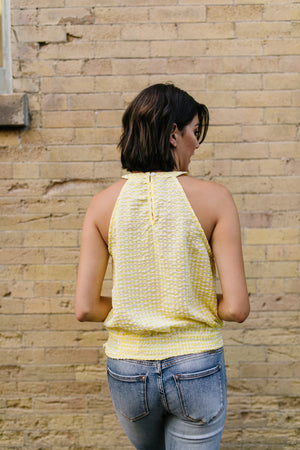 Hello Sunshine Smocked Halter