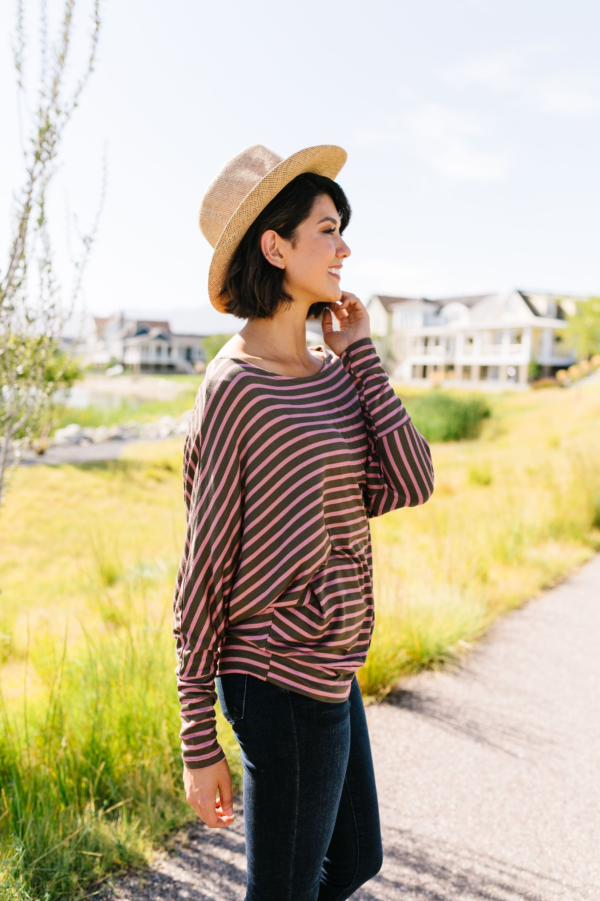 Stripes Of A Different Color Top