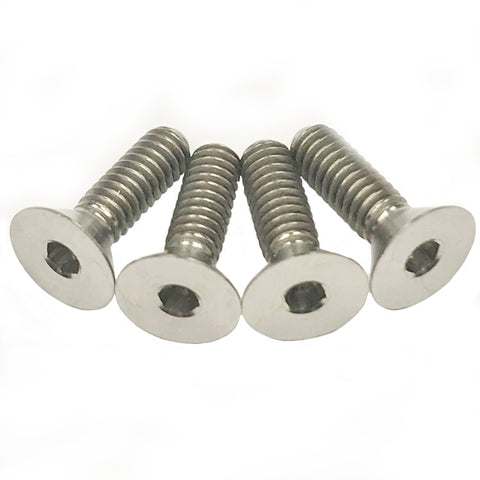 5-40 Titanium Flat Head Screws