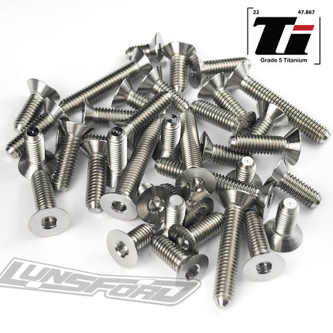 Titanium Screw Bottom Kit for XRay XB2C 2018 (37pcs)