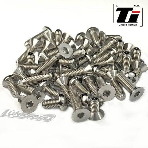 Titanium Screw Kit for Xray X12 2018 (50pcs)