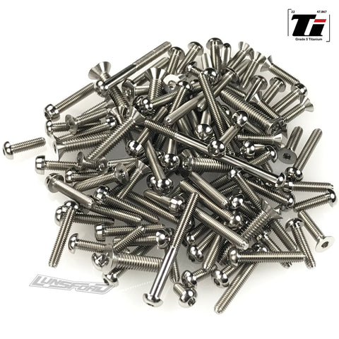 Titanium Screw Top Kit for TLR 8ight-X Elite (118pcs)