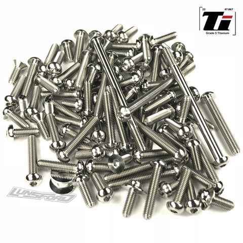 Titanium Screw Top Kit for Xray XB2D 2019 (94pcs)