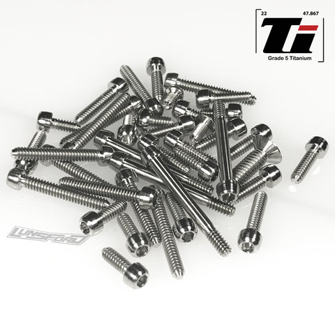Titanium Screw Top Kit for Team Associated RC10 Worlds (45pcs)