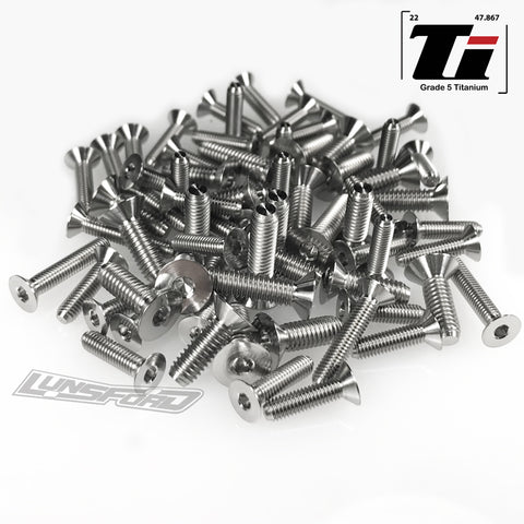 Titanium Screw Bottom Kit for Arrma Limitless (68pcs)