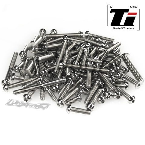 Titanium Screw Top Kit for Arrma Limitless Roller (116pcs)