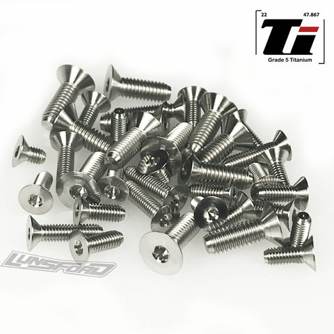 Titanium Screw Bottom Kit for Arrma Kraton, Notorious, Outcast, Typhon (41pcs)