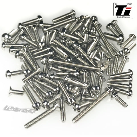 Titanium Screw Top Kit for Arrma Typhon (96pcs)
