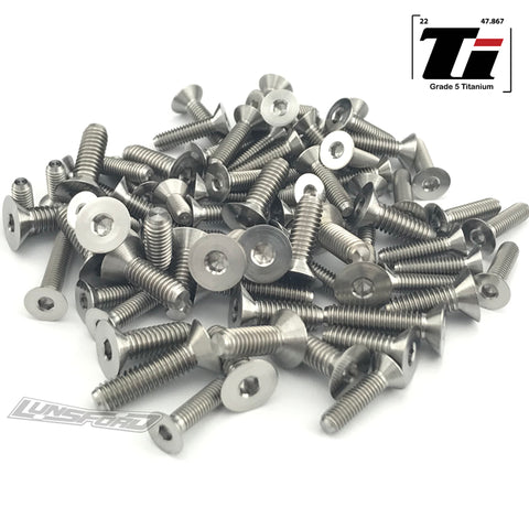 Titanium Screw Bottom Kit for Arrma Felony 6S (72pcs)