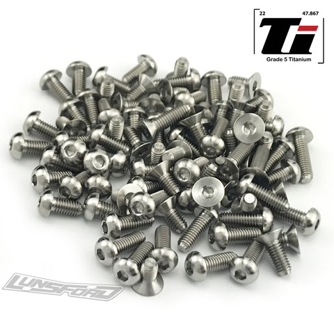 Titanium Screw Complete Kit for Roche P10 Evo2 (88pcs)
