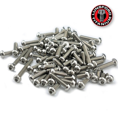 Titanium Screw Top Kit for Team Associated RC10B74.1 (90pcs)