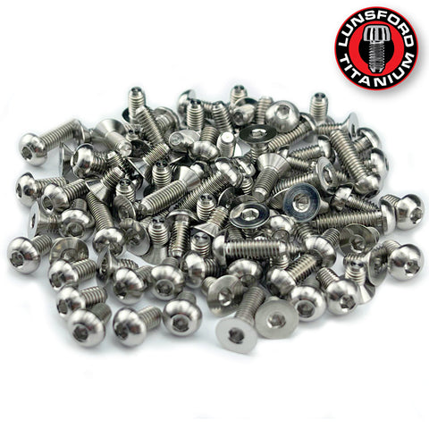 Titanium Screw Complete Kit for Awesomatix A800MMX (91pcs)