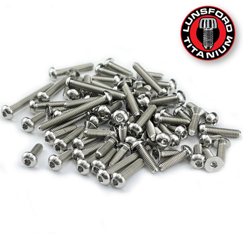 Titanium Screw Top Kit for XRay XB2D 2021 (74pcs)