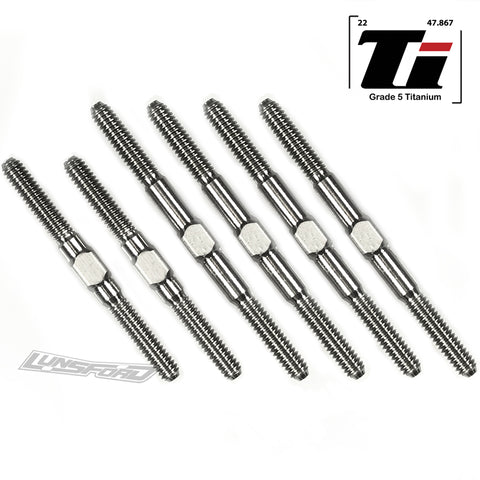 2mm Titanium Turnbuckle Kit for Losi Mini-T