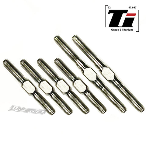 3mm PUNISHER Titanium Turnbuckles for ARC R11