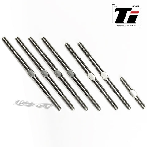 3mm PUNISHER Titanium Turnbuckles for Schumacher Cat L1